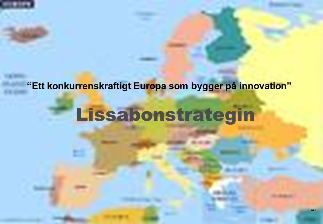 Ett konkurrenskraftigt Europa som bygger på innovation