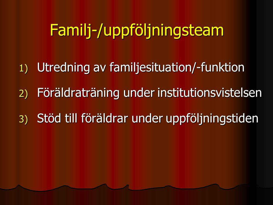 Familj-/uppföljningsteam