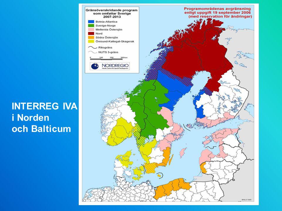 INTERREG IVA i Norden och Balticum