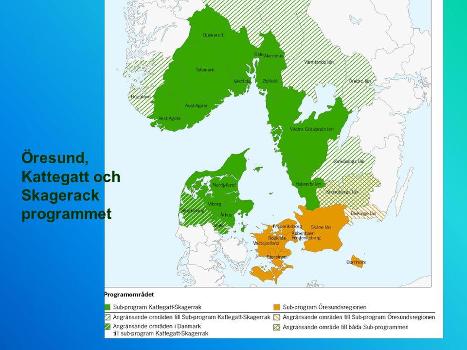 Öresund, Kattegatt och Skagerack programmet