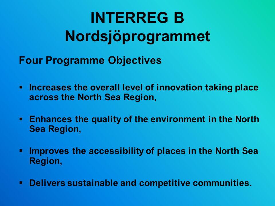 INTERREG B Nordsjöprogrammet