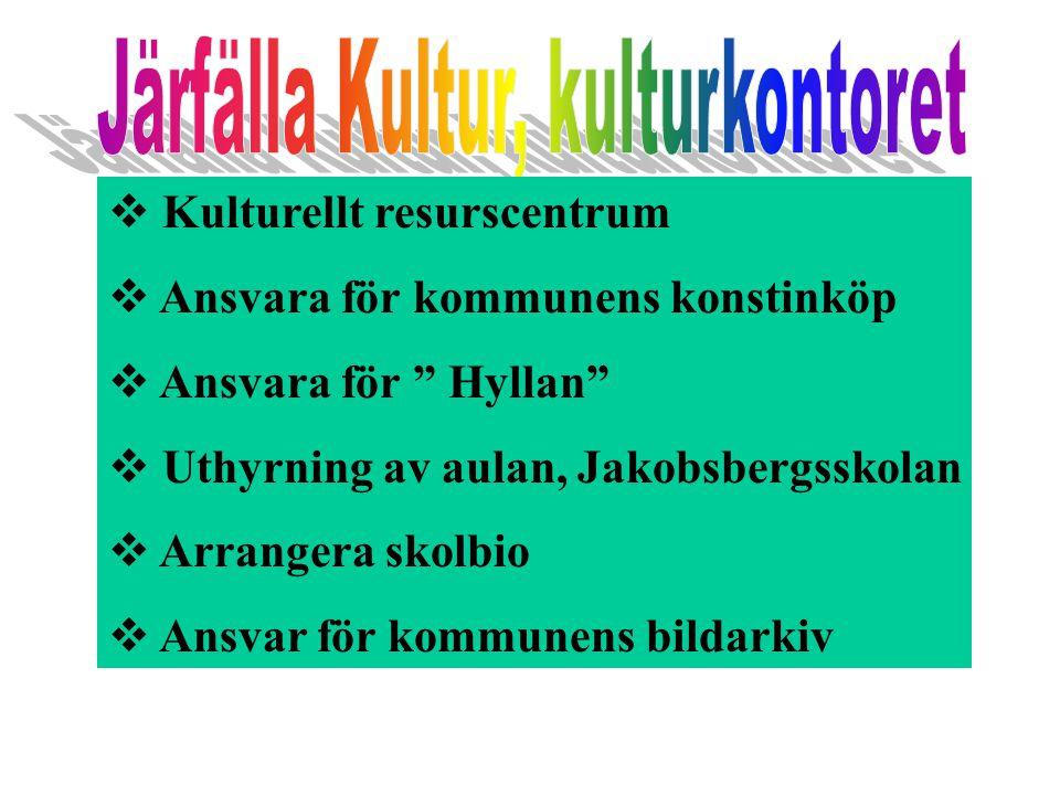 Järfälla Kultur, kulturkontoret