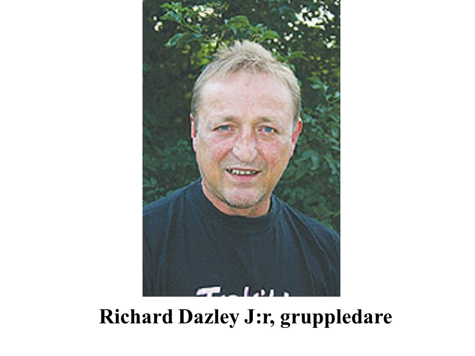 Richard Dazley J:r, gruppledare