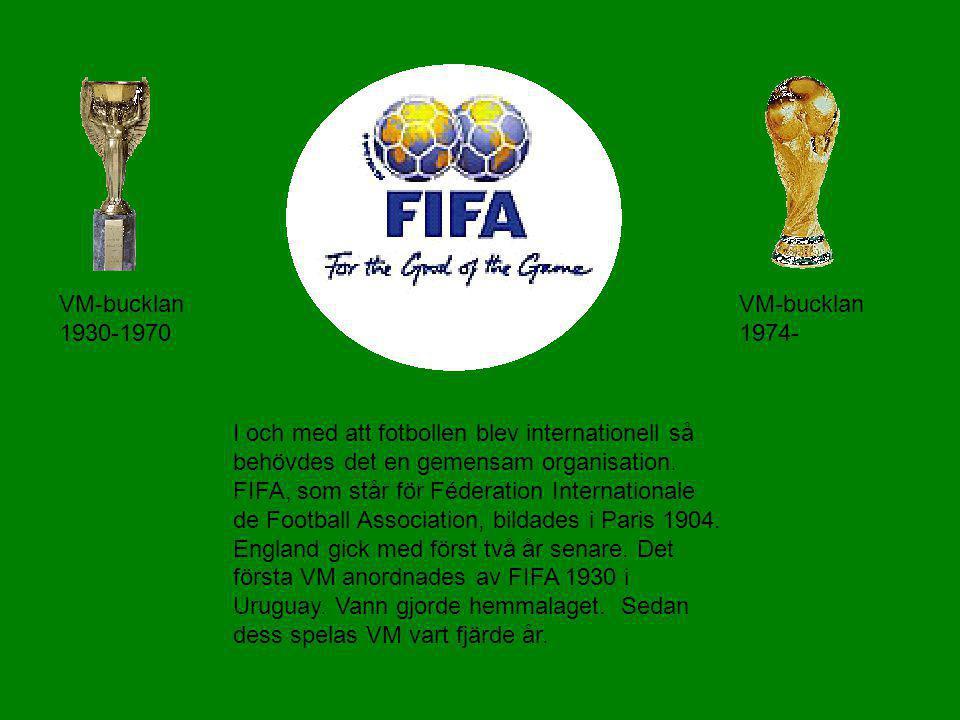 VM-bucklan 1930-1970 VM-bucklan 1974-