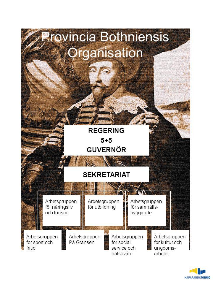 Provincia Bothniensis Organisation