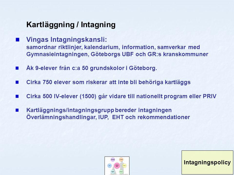 Kartläggning / Intagning