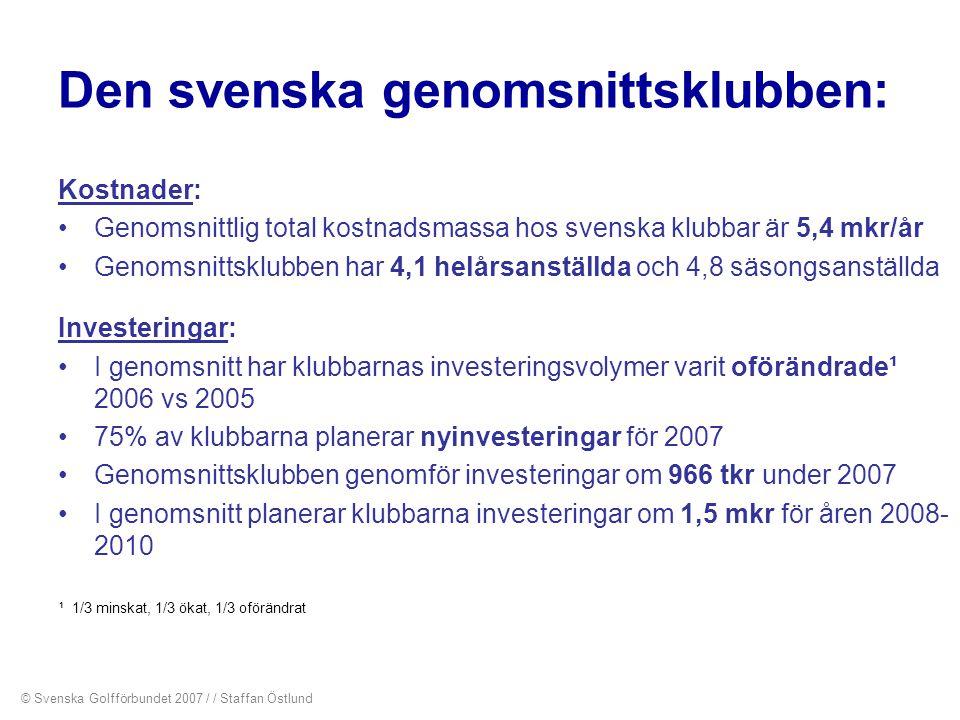 Den svenska genomsnittsklubben: