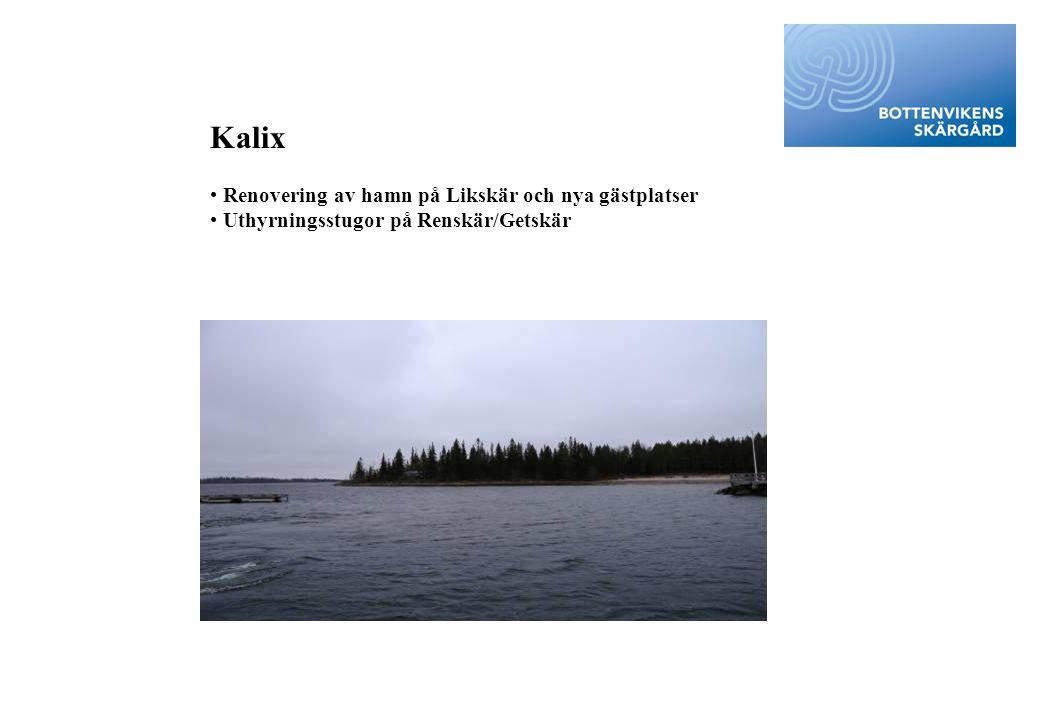 Kalix Renovering av hamn på Likskär och nya gästplatser