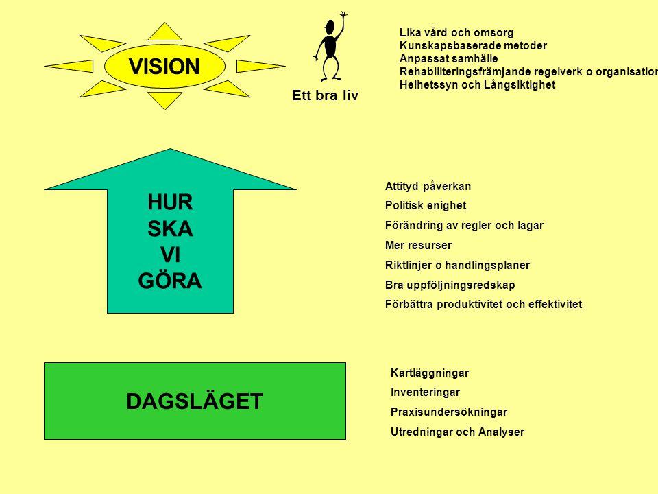 VISION HUR SKA VI GÖRA DAGSLÄGET