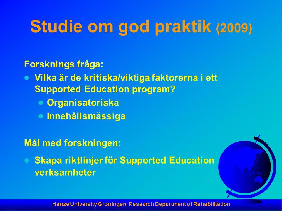 Studie om god praktik (2009)