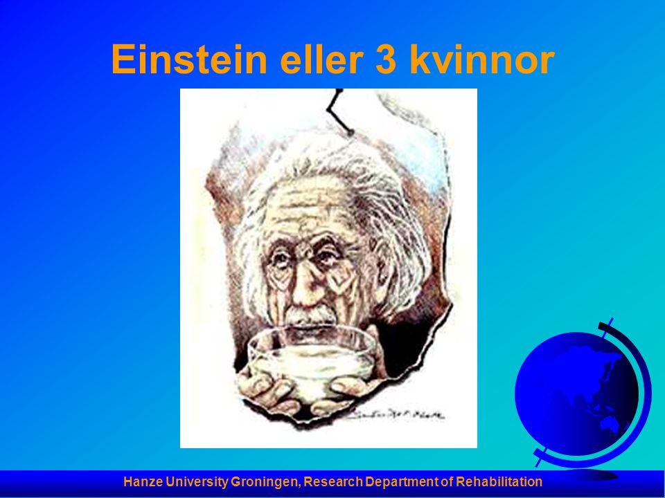Einstein eller 3 kvinnor