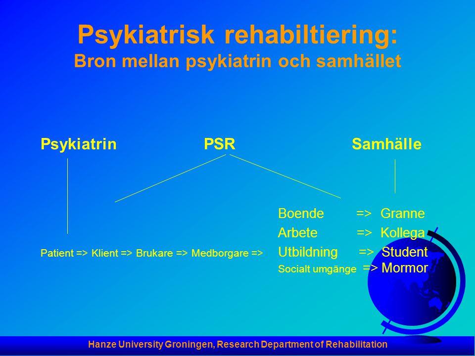 Psykiatrisk rehabiltiering: