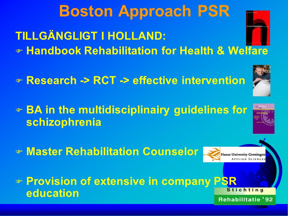 Boston Approach PSR TILLGÄNGLIGT I HOLLAND: