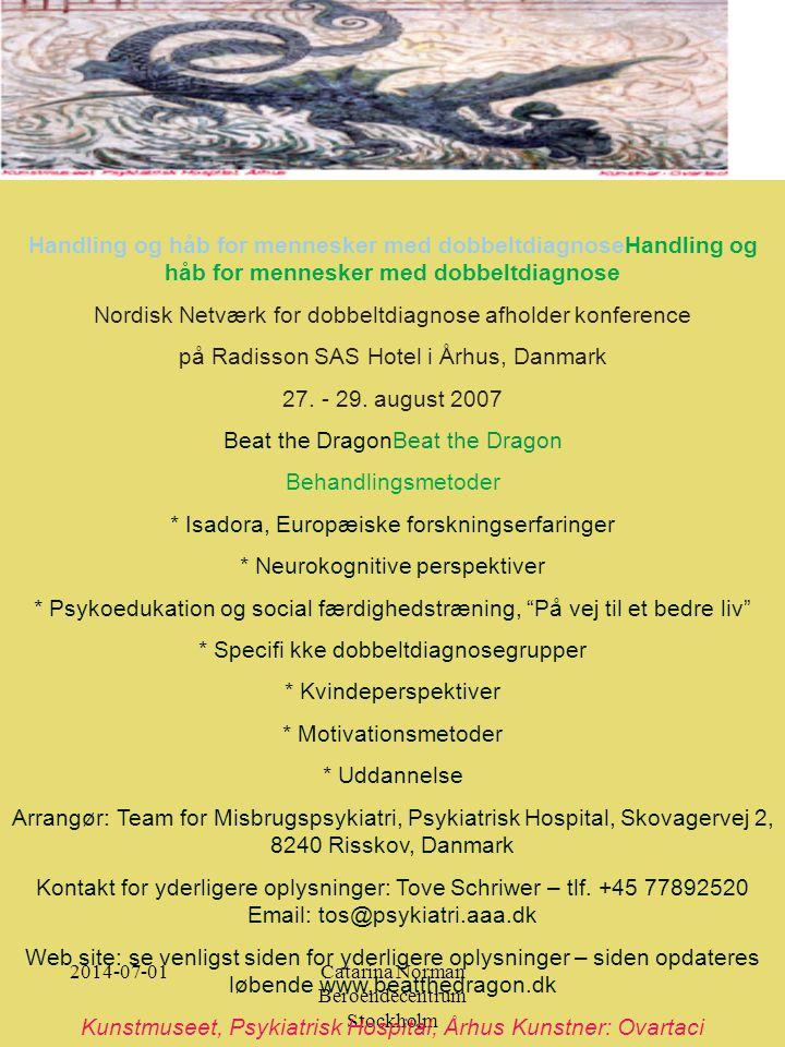 Nordisk Netværk for dobbeltdiagnose afholder konference