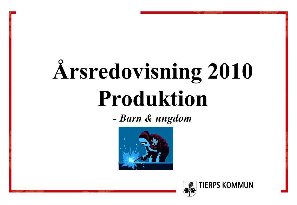 Årsredovisning 2010 Produktion