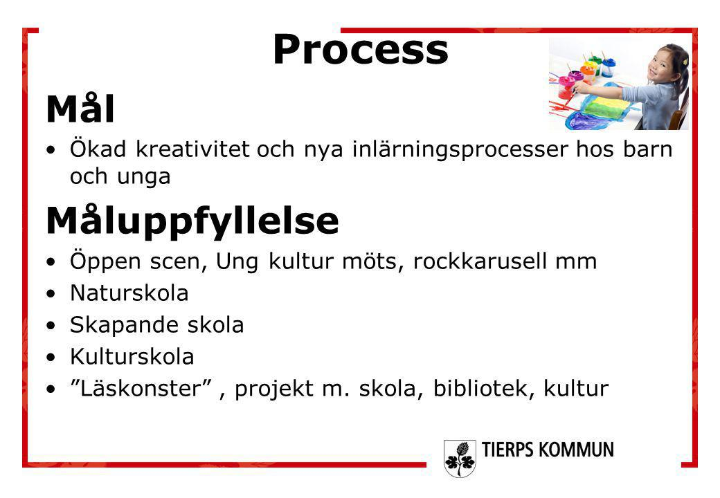 Process Mål Måluppfyllelse