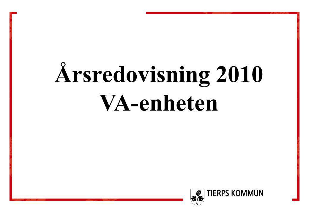 Årsredovisning 2010 VA-enheten