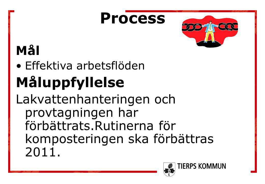 Process Måluppfyllelse Mål