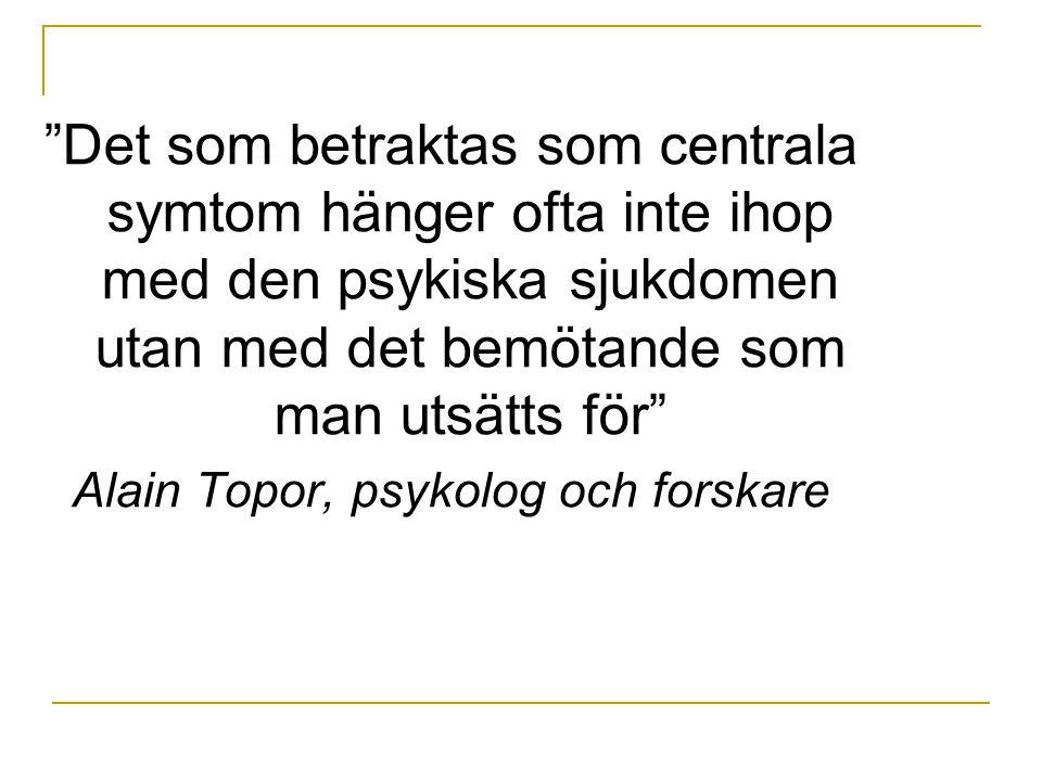 Alain Topor, psykolog och forskare
