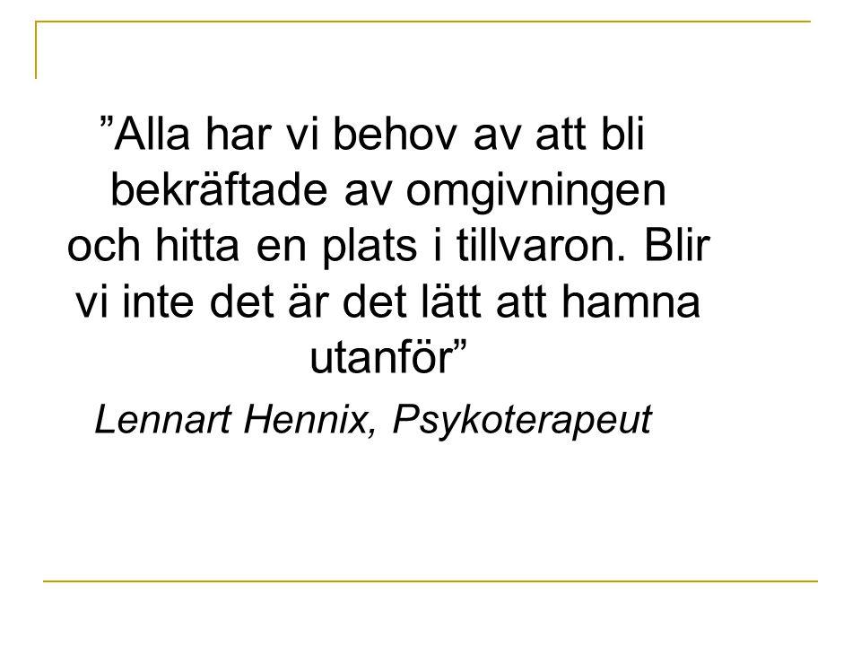 Lennart Hennix, Psykoterapeut