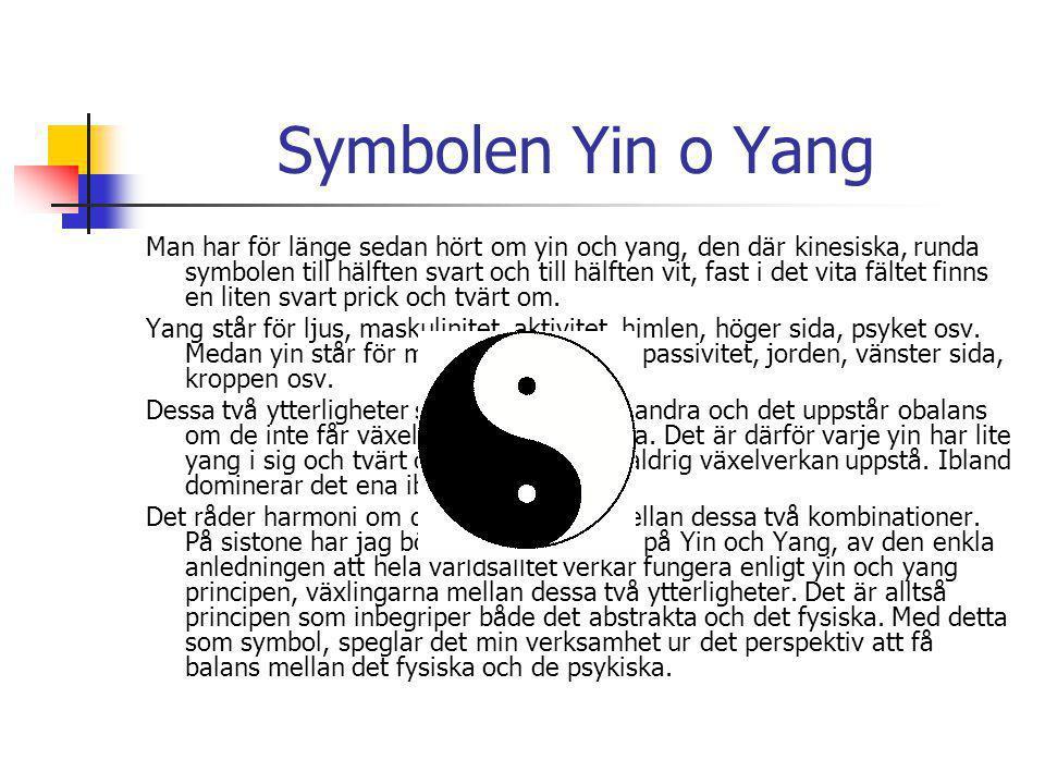 Symbolen Yin o Yang