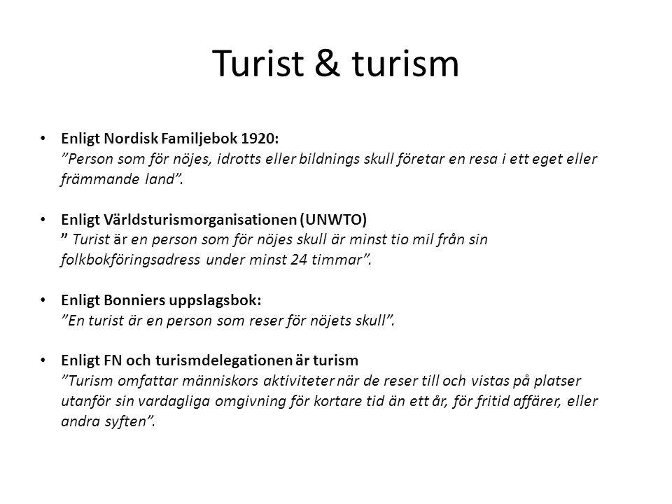 Turist & turism