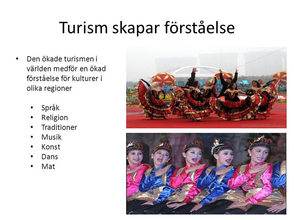 Turism skapar förståelse