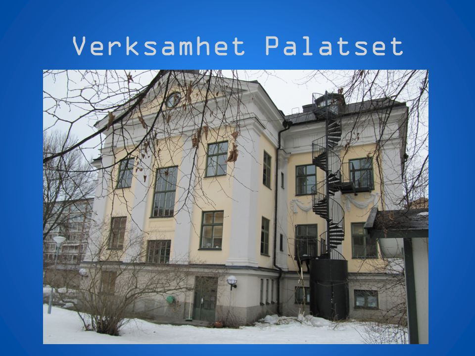 Verksamhet Palatset