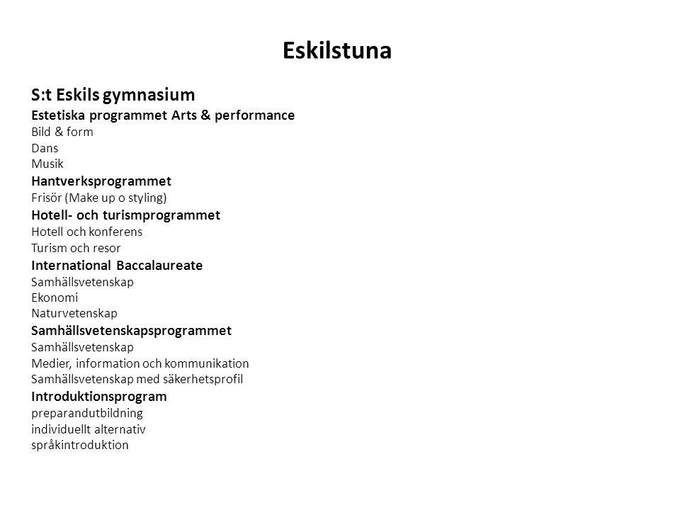 Eskilstuna S:t Eskils gymnasium