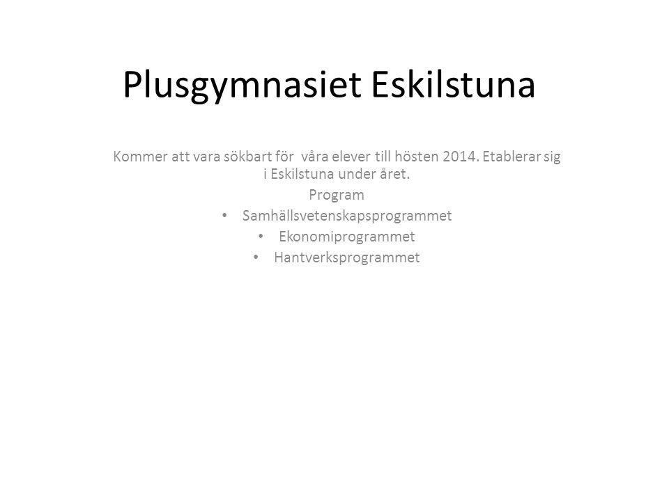 Plusgymnasiet Eskilstuna