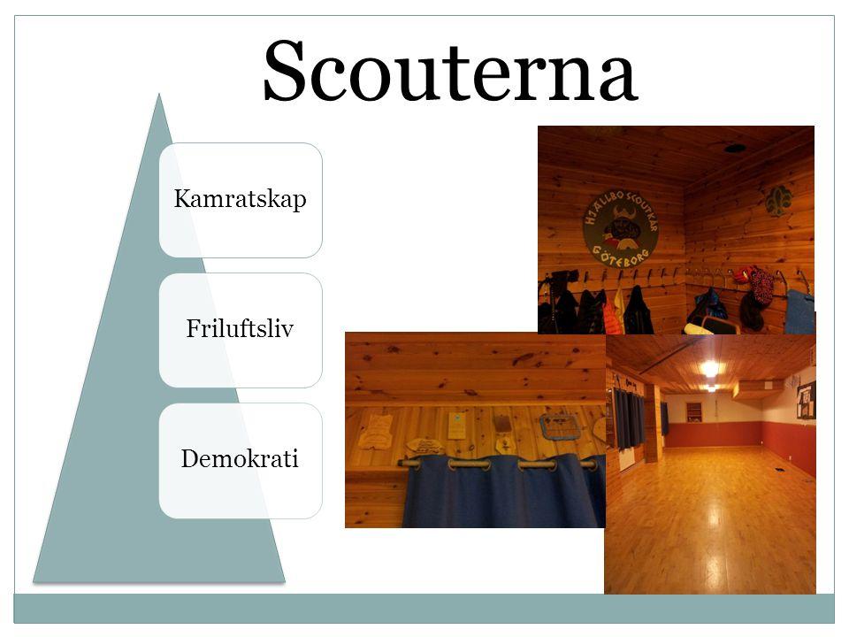 Scouterna Kamratskap Friluftsliv Demokrati
