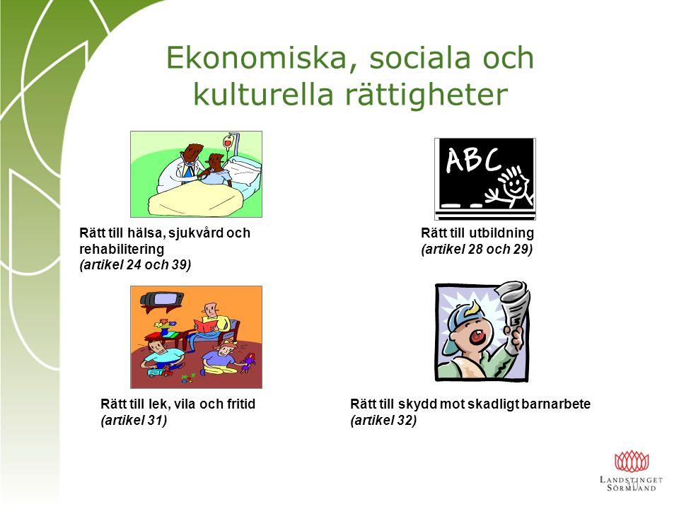 Ekonomiska, sociala och kulturella rättigheter