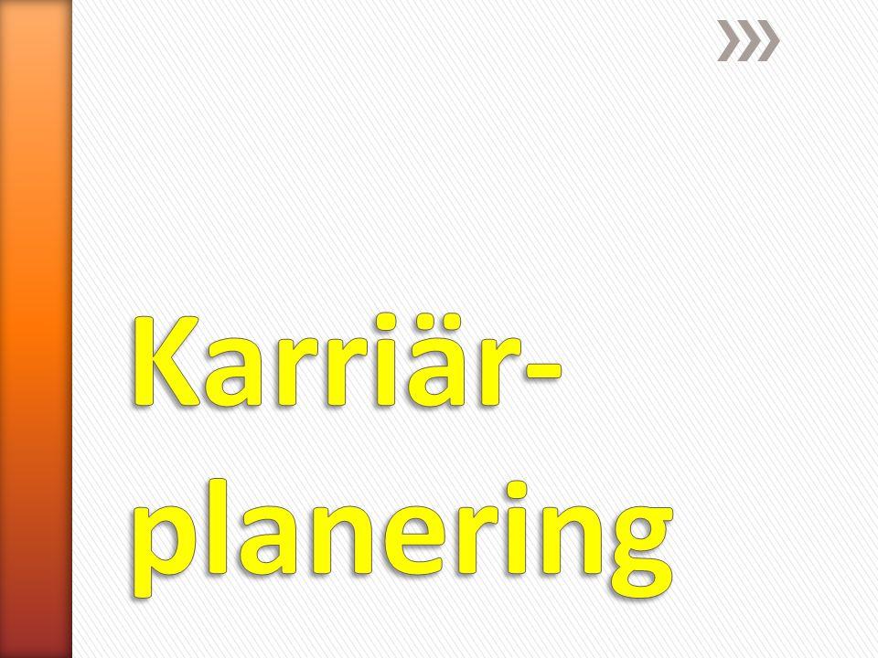 Karriär-planering