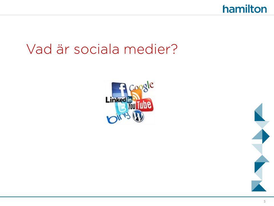 Vad är sociala medier