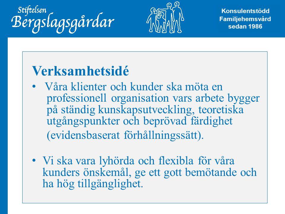 Konsulentstödd Familjehemsvård