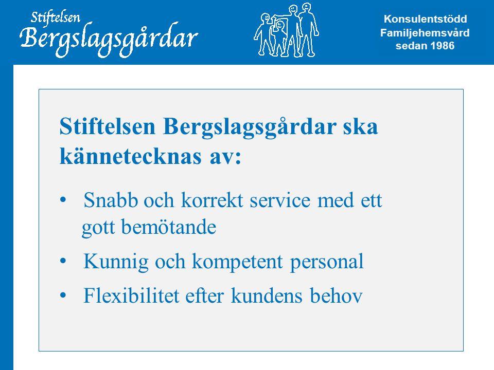 Stiftelsen Bergslagsgårdar ska kännetecknas av: