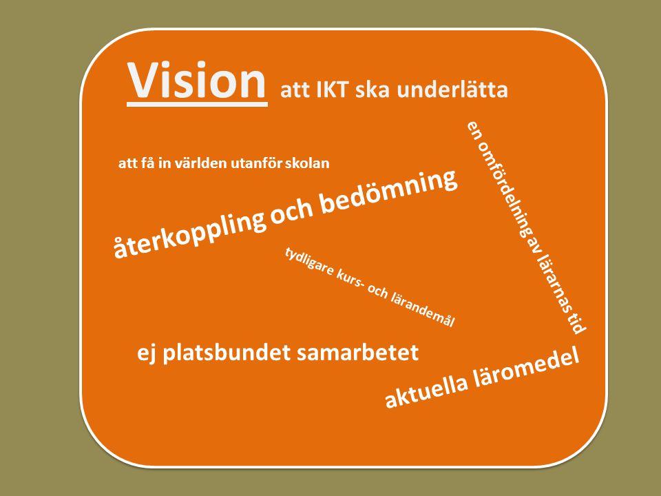 Vision att IKT ska underlätta