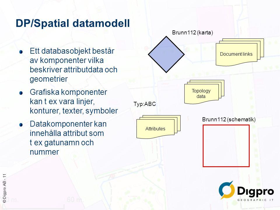 DP/Spatial datamodell