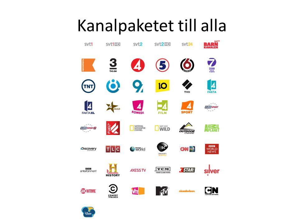 Kanalpaketet till alla