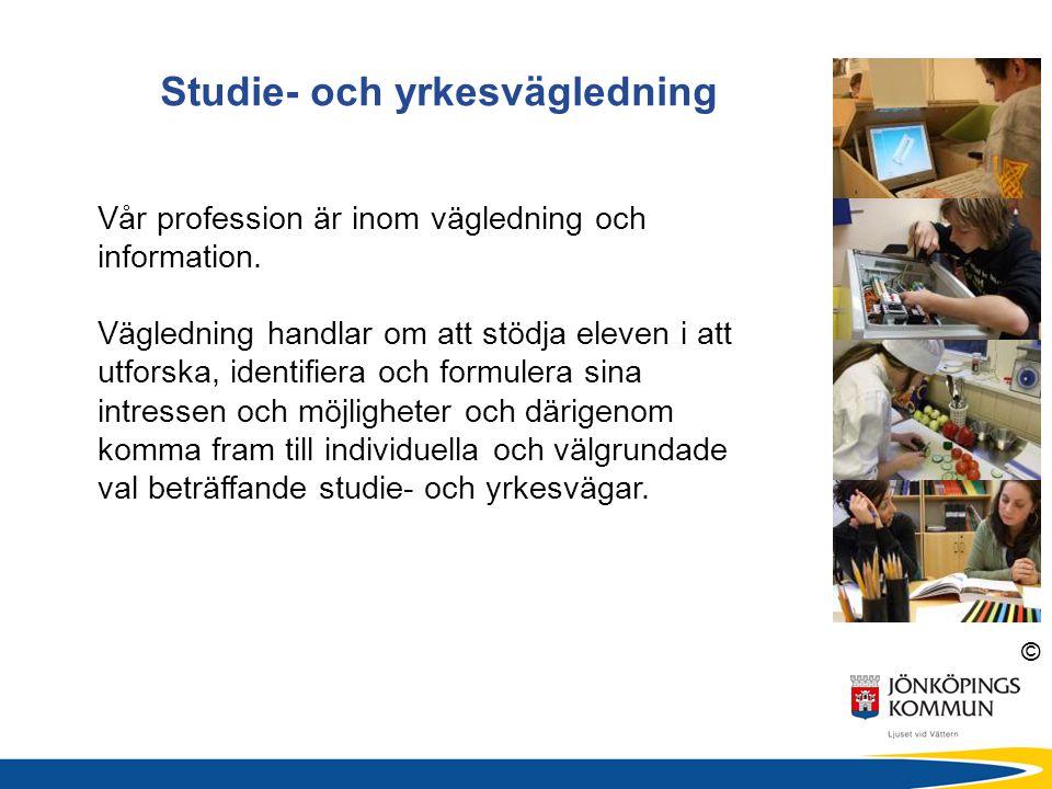 Studie- och yrkesvägledning