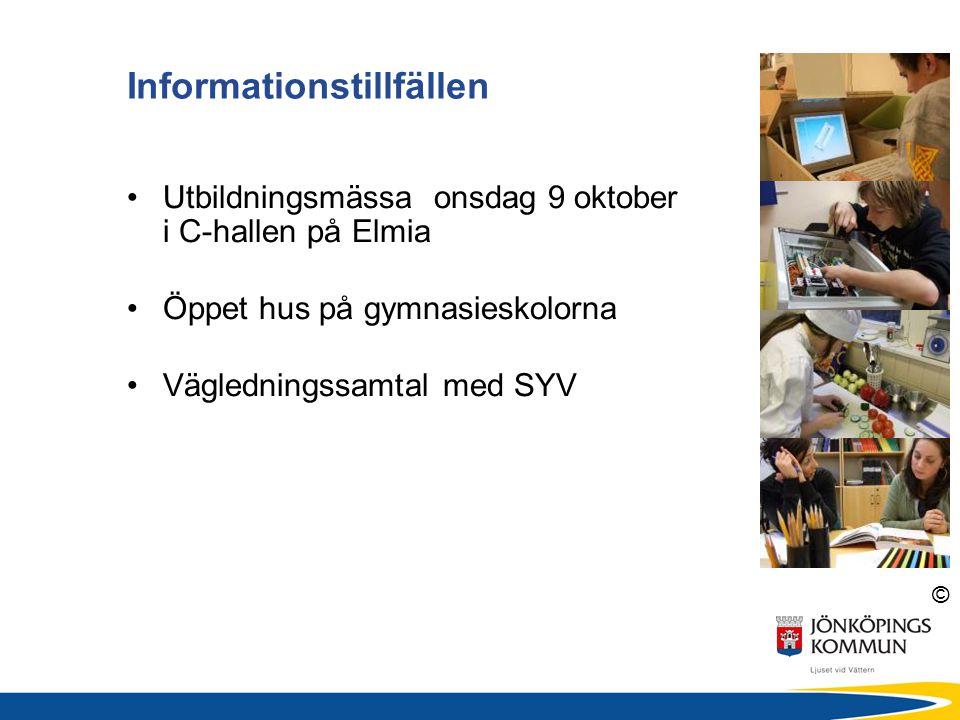 Informationstillfällen