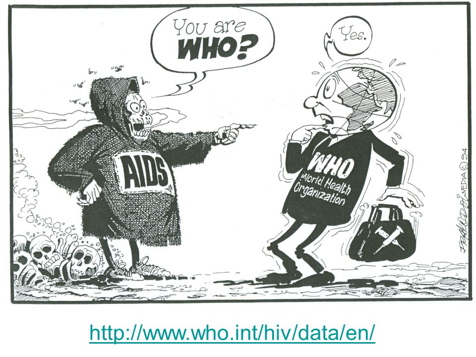 WHO http://www.who.int/hiv/data/en/