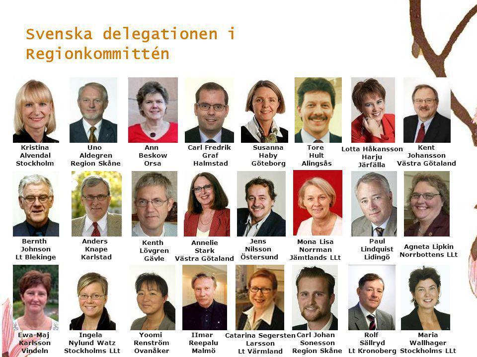 Svenska delegationen i Regionkommittén