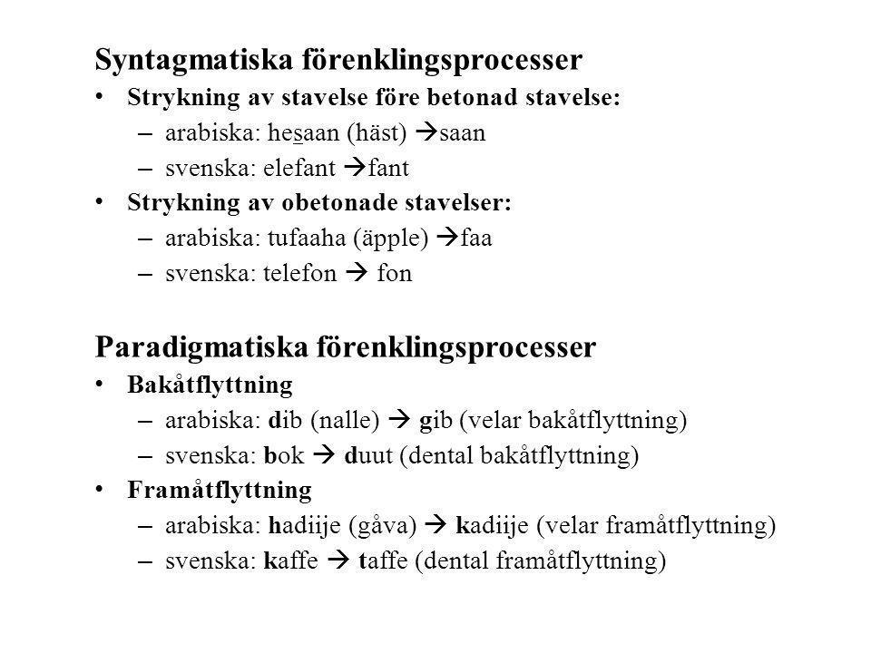 Syntagmatiska förenklingsprocesser
