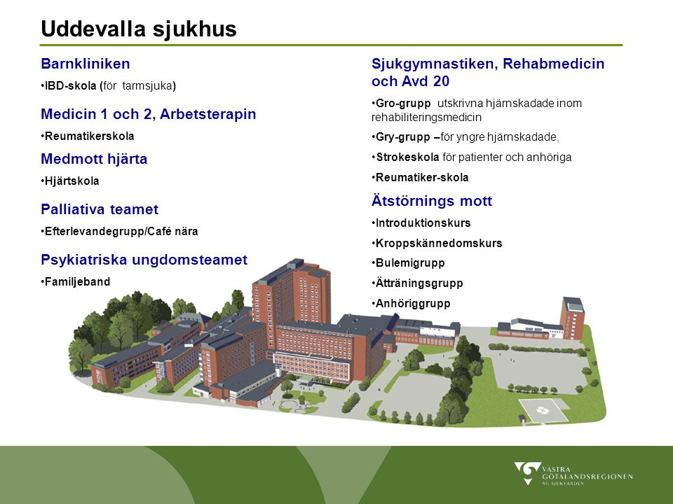 Uddevalla sjukhus Barnkliniken
