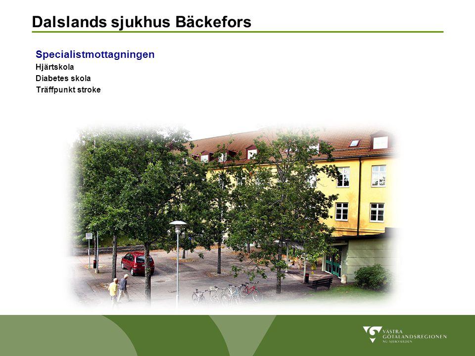Dalslands sjukhus Bäckefors