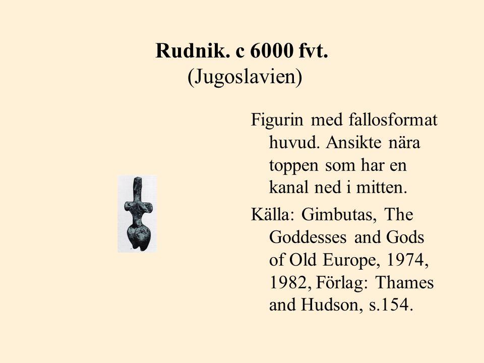 Rudnik. c 6000 fvt. (Jugoslavien)