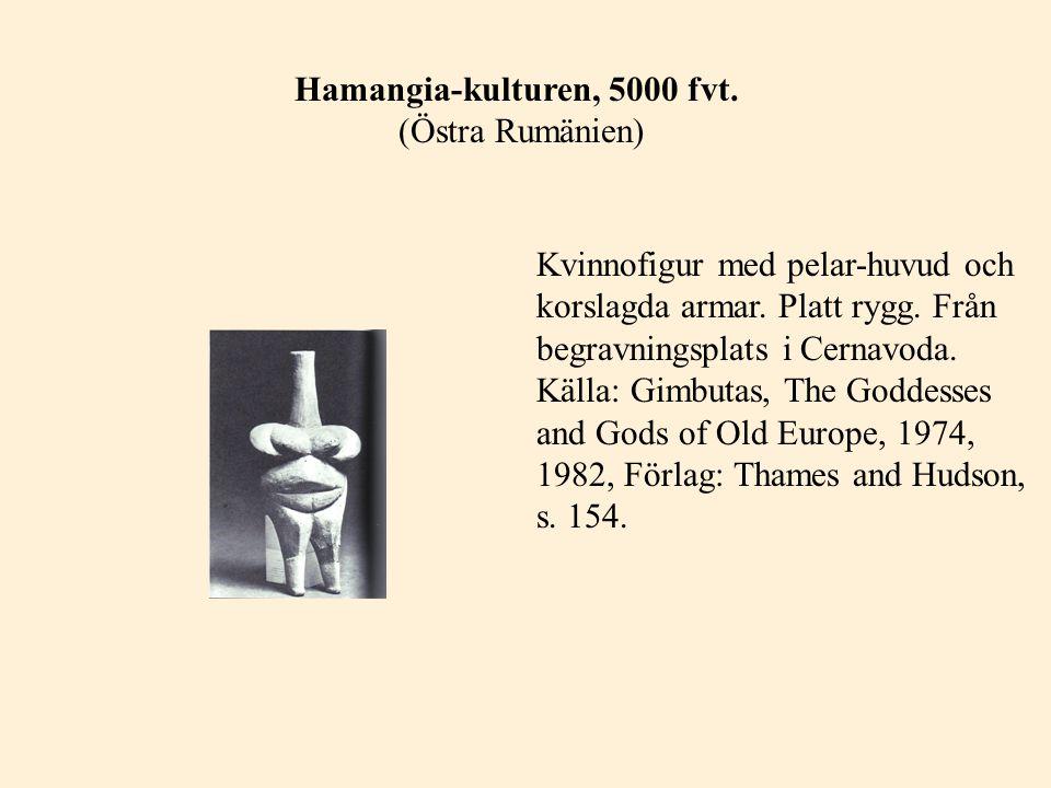Hamangia-kulturen, 5000 fvt. (Östra Rumänien)