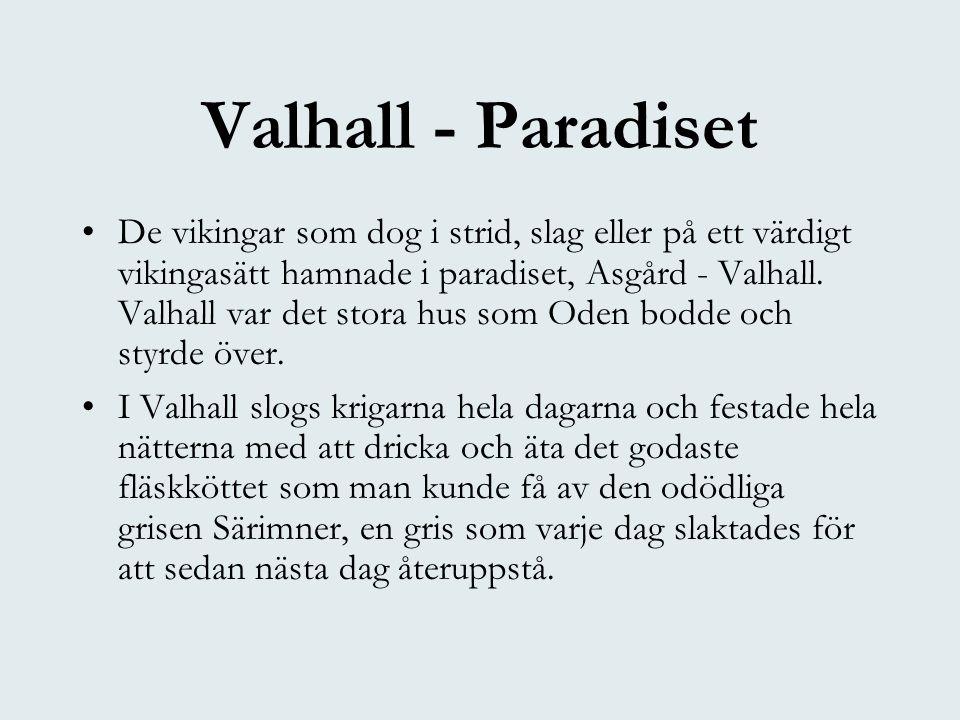 Valhall - Paradiset