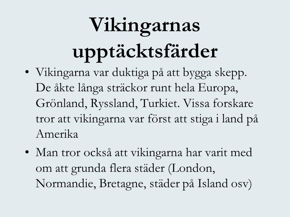 Vikingarnas upptäcktsfärder